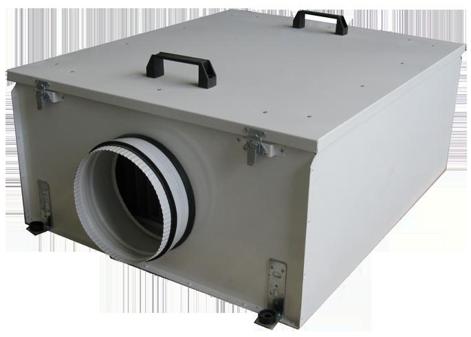 Приточые установки VKJet с электрокалорифером